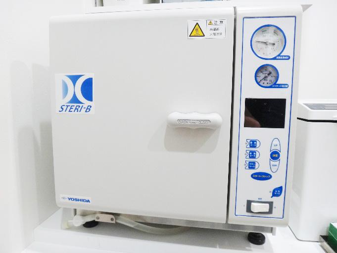 クラスB準拠・高圧蒸気滅菌器